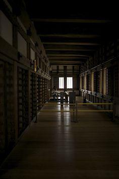 Hallway of Himeji Castle - National Treasure of Japan