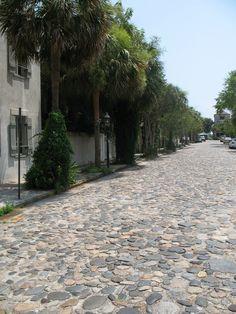 Beautiful cobblestone street / Charleston Historic | by skyliner72