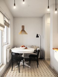 Фотография: Кухня и столовая в стиле Скандинавский, Минимализм, Квартира…