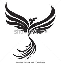 Google Image Result for http://image.shutterstock.com/display_pic_with_logo/403825/107959178/stock-vector-tribal-phoenix-107959178.jpg