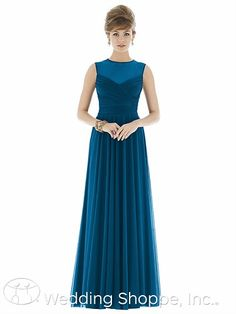 A fav bridesmaid's dress for K&J's wedding. Alfred Sung Bridesmaid Dress D677