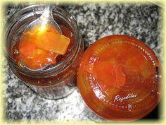 mermelada de sandia Jam And Jelly, Nice Cream, Dressing Recipe, Marmalade, Deli, Preserves, Cantaloupe, Food And Drink, Pudding