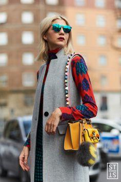 Style Stalker by Szymon Brzóska — (via Samantha Angelo during Milan Fashion Week A/W...