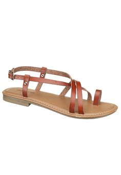 Maurices Kallie Toe Ring Sandal | These are so cute. If they weren't 24 dollars, I'd definitely be getting them.