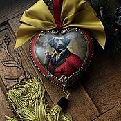 « Верные друзья-1» интерьерный Медальон – купить или заказать в интернет-магазине на Ярмарке Мастеров | Продано<br /> Прямо ретро-ретро! Цвет сам за…