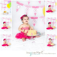Cake Smash & 1st Birthday | Inspire Me Photography