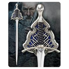 The Hobbit Gandalf the Grey Glamdring Sword Full Replica - Noble Collection - Hobbit / Lord of the Rings - Prop Replicas at Entertainment Earth