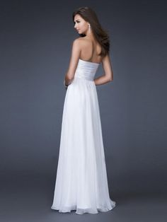 2011 Style A-line Sweetheart  Sleeveless Floor-length Chiffon  Bridesmaid / Evening Dresses / Prom Dresses