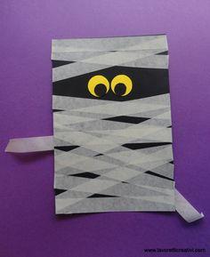 Lavoretti di Halloween   Mummia in halloween
