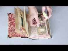 Jane Austen Journal using repurposed book - YouTube