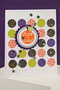 Trick Or Treat Card by Erin Lincoln for Papertrey Ink (October 2014)
