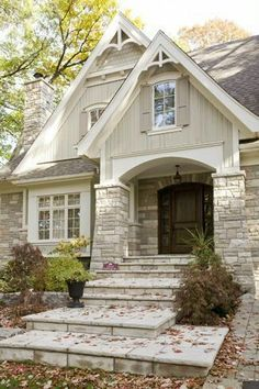 Awesome 48 Outstanding Cottage House Exterior Design Ideas To Try Asap