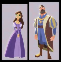 Character designs da série tangled, por bobby pontillas thecab - the concep Tangled Concept Art, Disney Concept Art, Disney Kunst, Disney Art, Character Concept, Character Art, Bobby, Art Test, Blue Sky Studios