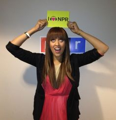 Tia Mowry gets playful with her love for NPR. (May 2012)