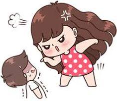 Cute Couple Drawings, Cute Couple Cartoon, Cute Cartoon Pictures, Cute Drawings, Cute Love Gif, Cute Couple Pictures, Cute Memes, Funny Cute, Hug Illustration