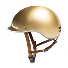 Thousand Bicycle Helmet - Gold