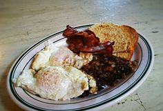 Pork Hash & Eggs