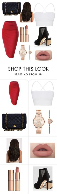 """""""Sophisticated yet sexy"""" by queen-tay-tay1 ❤ liked on Polyvore featuring Theory, Chanel, Michael Kors, Charlotte Tilbury, ALDO and WorkWear"""