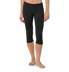 Women's Lean Legging Crop ~ Organic Cotton & Modal Cropped Tights ~ Inspired Outdoor Clothing ~ Horny Toad Activewear