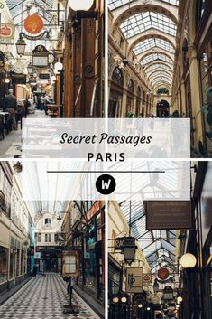 Secret Passages of Paris