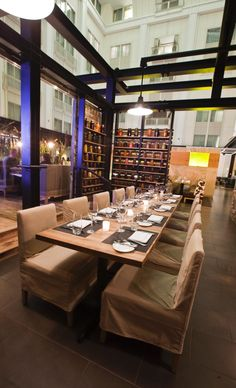 Urban Farmer restaurant///The Nines, a Luxury Collection Hotel///Portland
