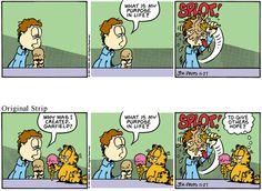 Garfield Minus Garfield Comic Strip, April 22, 2016     on GoComics.com