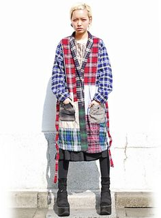 flannel shirts into bathrobe or house coat - warm and cozy