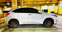 "Honda HRV with 20"" rims"
