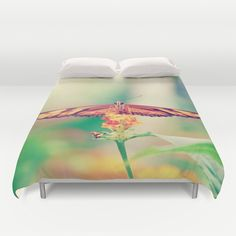 #nature #butterfly #photography #closeup #insect #animals #duvetcover #bedroom available in different #homedecor products. Check more at society6.com/julianarw