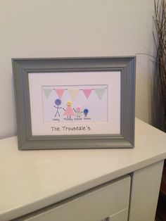 Family frame, personalised to suit your family £9