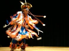 Native Dancing & Pow Wows......I took this shot at the National Museum of the American Indian.