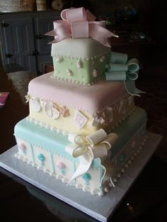 baby shower cake by Angel cake26, via | http://awesome-cake-photo-collections.blogspot.com