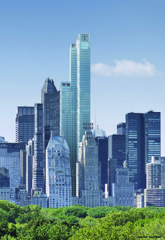 One57 –Carniege 57; New York-USA; 306.4 m  79; topped out-completion 2014; design architects- Atelier Christian de Portzamparc