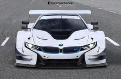 BMW i8 DTM Race Car gets rendered - http://www.bmwblog.com/2016/03/11/bmw-i8-dtm-race-car-gets-rendered/