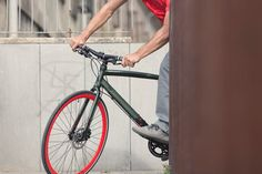 Vola Velo. Bicicleta Urbana Orbea Carpe 20 color verde y rojo…