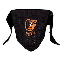 Hunter MFG Baltimore Orioles Mesh Dog Bandana, Small - http://www.thepuppy.org/hunter-mfg-baltimore-orioles-mesh-dog-bandana-small/