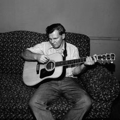 One of the greatest musicians Doc Watson.  He changed my life.  photo by Henry Horenstein