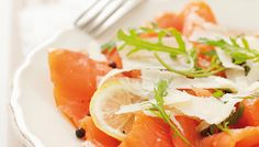 Lachs-Carpaccio #salmon #carpaccio #homemade #lemon #yummy #fish #parmegiano #fotd #sogood #recipe