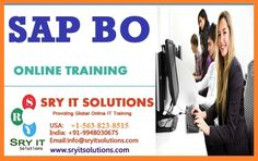 SRY IT Solutions has designed the SAP BO Online Training in such a manner that makes one efficient in using the course and learn to create the required component, based on the view of the business process and also specialized in business intelligence. Visit for more details: https://sryitsolutions.wordpress.com/2015/03/25/how-to-gain-a-sap-business-objective-training/