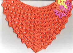 Ravelry: Winged Hair Kerchief pattern by Jessica Silfa