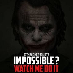 Most memorable quotes from Joker, a movie based on film. Find important Joker Quotes from film. Joker Quotes about who is the joker and why batman kill joker. Heath Ledger Joker Quotes, Best Joker Quotes, Badass Quotes, Funny Quotes, Dark Quotes, Strong Quotes, Positive Quotes, Attitude Quotes, Life Quotes