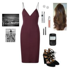 """Anastasia Steele - Jose's Photography Show & in the Restaurant"" by ohmyfifty on Polyvore featuring T By Alexander Wang, Aquazzura, Christian Dior, Anne Sisteron, Burberry and Trademark Fine Art"