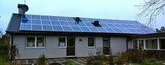 Villa i Strängnäs – Solceller 10,8 kW