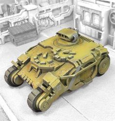 MiniaturesScenery.com alt-rhino for 40k? Tactical Response Vehicle Data