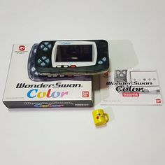On instagram by retronutz #retrogaming #microhobbit (o) http://ift.tt/2pggnsN up a Bandai Wonder Swan Color to add to my console collection.  Crystal Black Version  #bandai #wonderswan #console #retrocollective #retrogamers #vintageconsole  #handheldgaming #handheldconsole #wonderswancolor #consolecollector #consolecollection