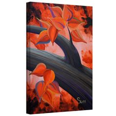 'Life Journey 3' by Shiela Gosselin Gallery Wrapped on Canvas