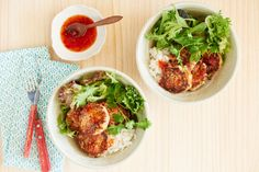 Vietnamese Tuna Fish Cakes with Sweet Chilli Vietnamese flavours of lime, chilli and lemongrass spice up these simple tuna patties. Serve them over rice with salad and plenty of coriander.