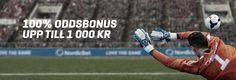 100% Oddsbonus upp till 1 000 KR - http://www.gratis-slot.com/nyheter/100-oddsbonus-upp-till-1-000-kr-2