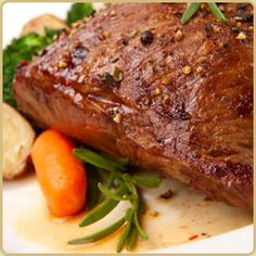 Orange Glazed Caribou Roast Recipe