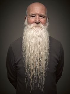 With Movember looming, it& time to get hairy. Photographer Greg Anderson captures the best of the best at the 2014 World Beard and Moustache Competition in Portland, Oregon. Grey Beards, Long Beards, Bart Styles, Bald With Beard, Full Beard, Epic Beard, Man Beard, Beard Model, Moustaches
